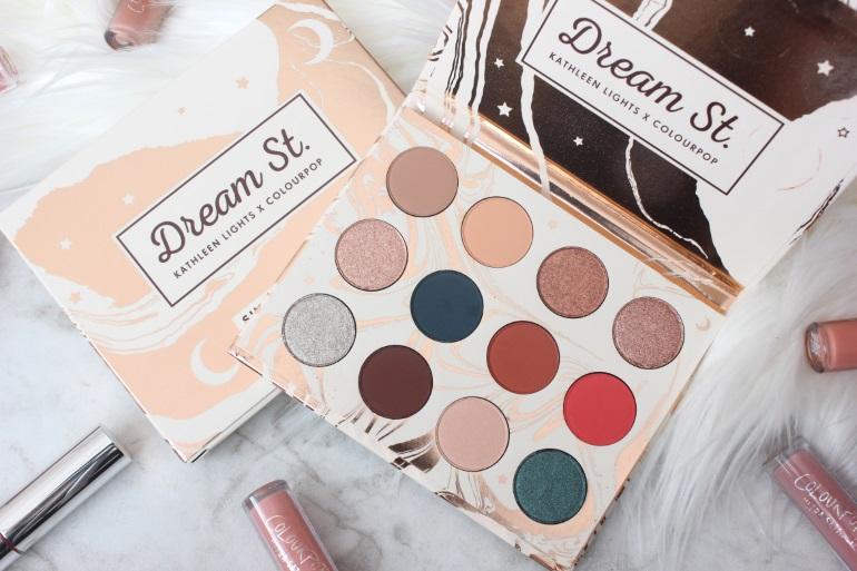 colourpop dream st. palette review