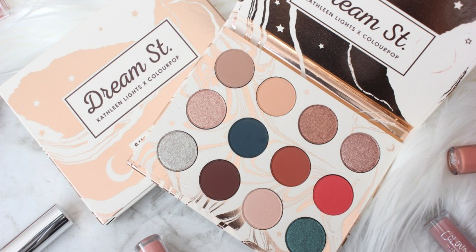 Colourpop Dream St. Palette review and swatches
