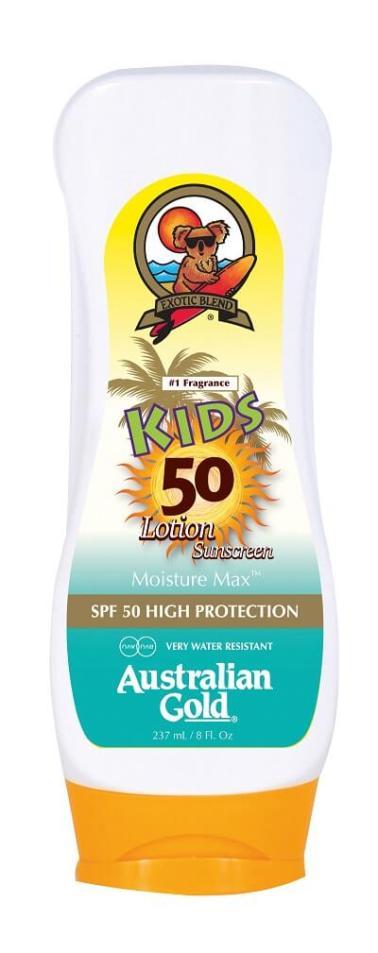 Australian Gold SPF 50 Kids Lotion