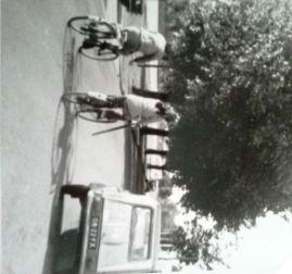 Op de fiets naar huis