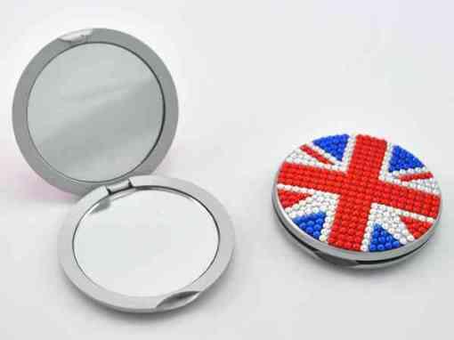 Spiegeltje Engelse vlag