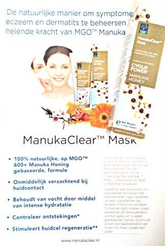 manuka clear mask