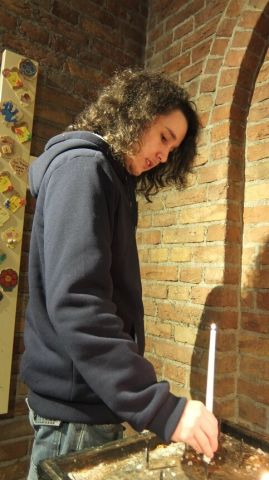 Tom Dominicuskerk kaars