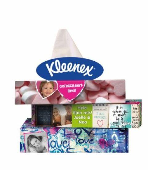 Kleenex Stapelschets TVC NL