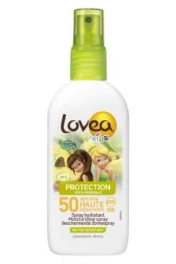 LOVEA KIDS -Spray SPF 50-HIGH PROTECTION - Organic - Clochette - 100 ml