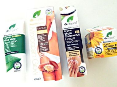 goodiebag event dr. organic