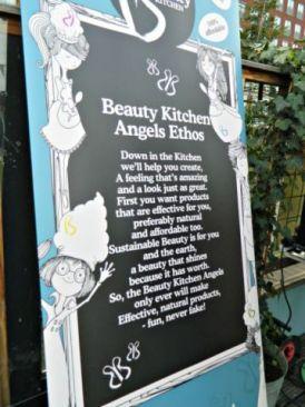 beauty kitchen angels ethos