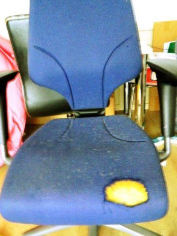 oude-bureaustoel