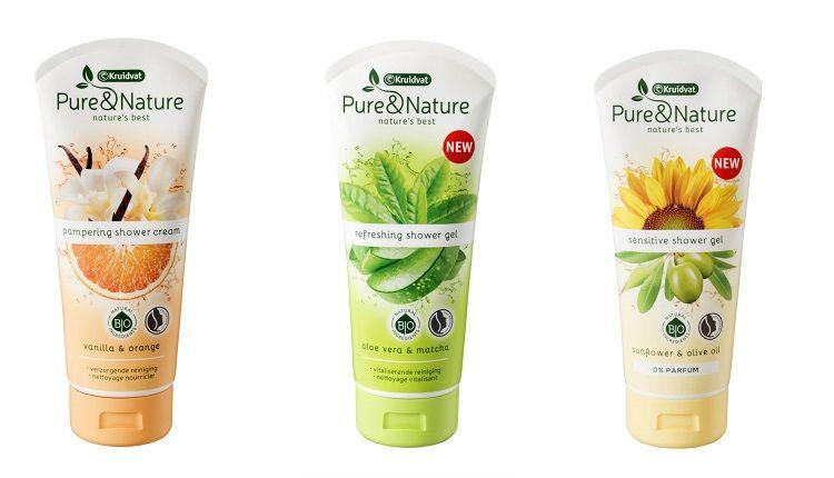 Pure & Nature shower cream