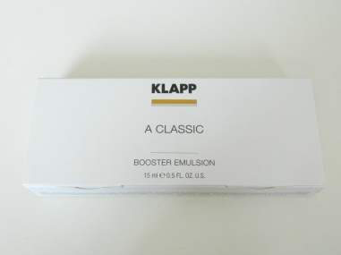 klapp booster emulsion