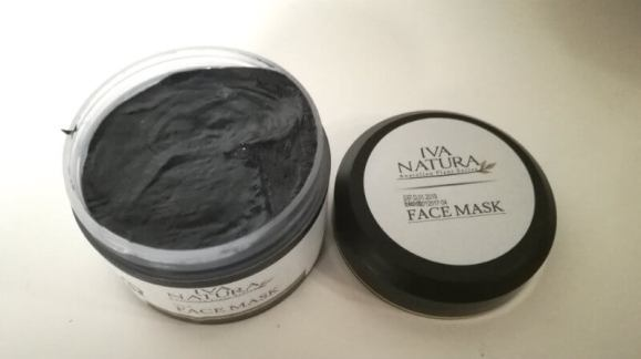 iva natura zwart masker
