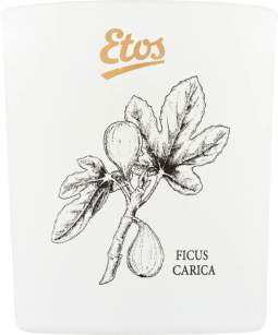 Etos Rosemary & Fig Scented Candle Open