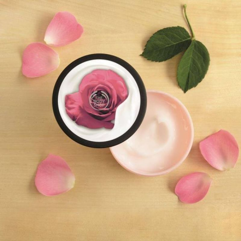 The Body Shop Body Yoghurt British Rose 3
