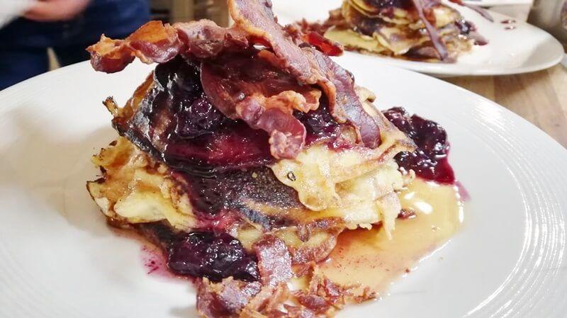 marley spoon pancakes met bacon (9)
