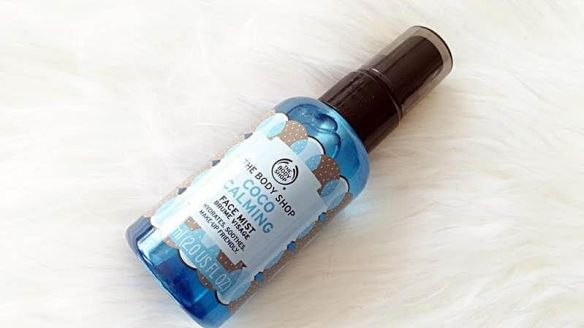 the body shop face mist coco