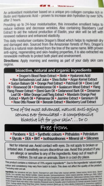 Dr. Organic Pro Collagen+ Moisturisers (9)