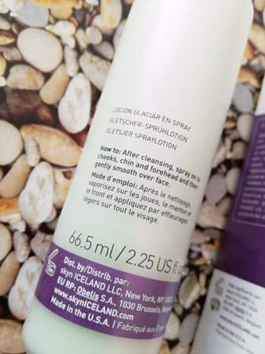 skyn iceland spray lotion