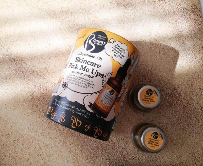 Beauty Kitchen travel kit abyssinian oil