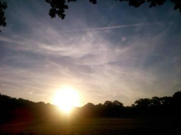 zoelen zonsondergang