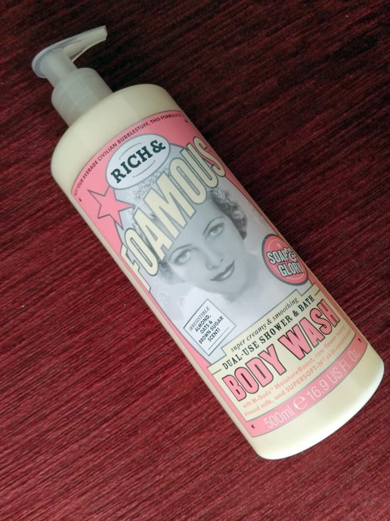 soap glory body wash