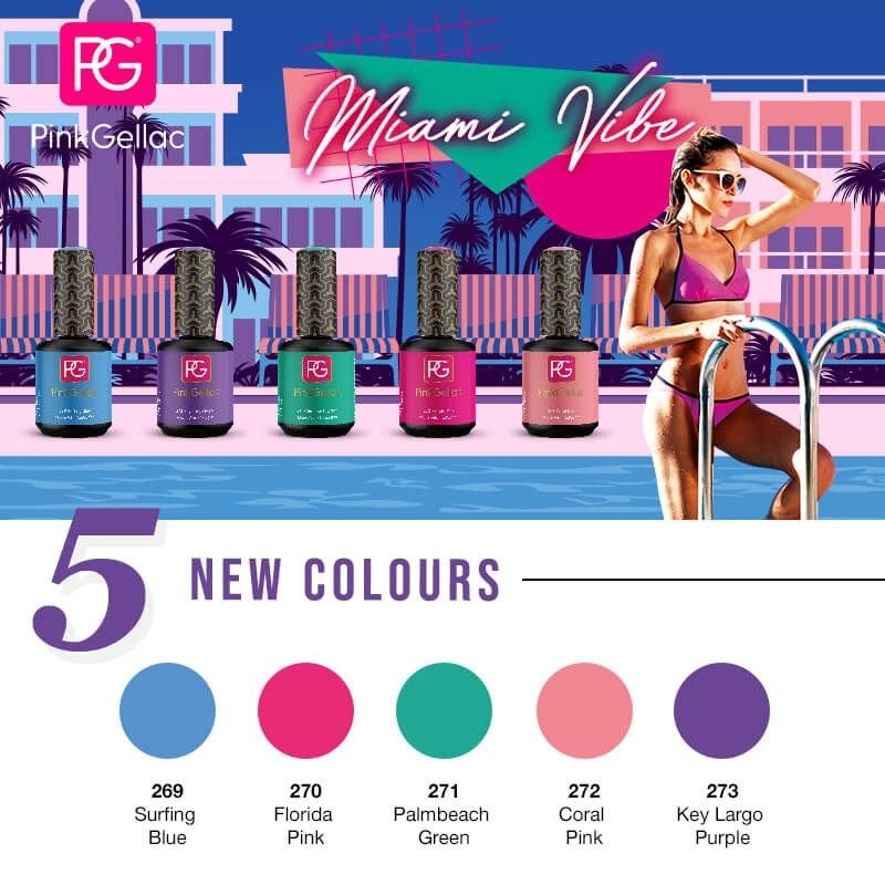 Pink Gellac Miami Vibe Collectie-Review 6 miami vibe Pink Gellac Miami Vibe Collectie-Review