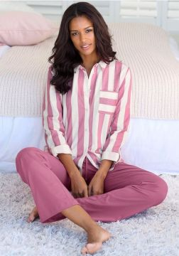 vivance-dreams-pyjama-in-overhemd-look-rood (1)
