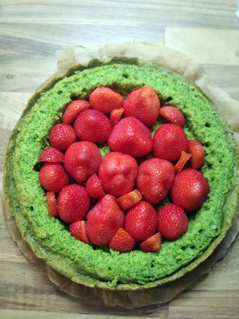 Zin in een Groene Taart met Aardbeien? 19 spinazietaart Zin in een Groene Taart met Aardbeien?