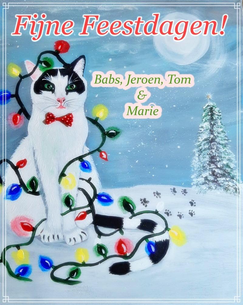 Fijne Kerstdagen! (en een kerstkaart voor jullie allemaal!) 11 kerstdagen Fijne Kerstdagen! (en een kerstkaart voor jullie allemaal!)