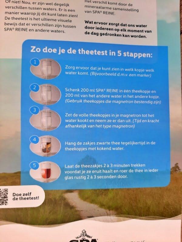 Waterwebinar van A tot SPA + de Theetest! 21 theetest Waterwebinar van A tot SPA + de Theetest!