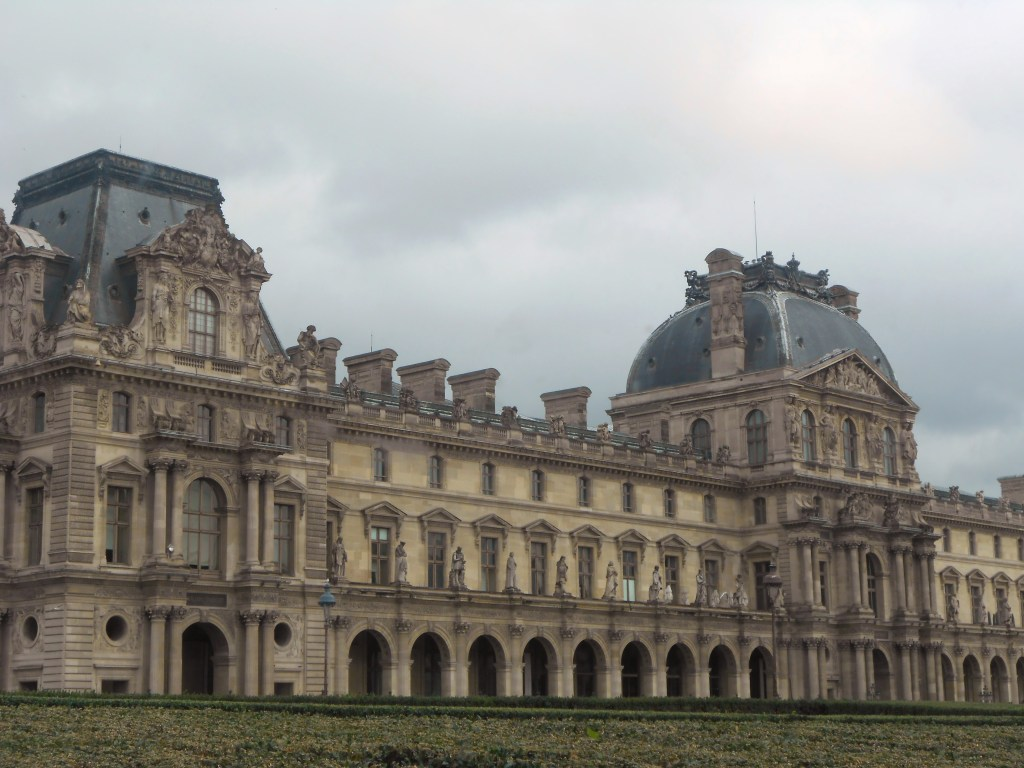 The intricate details on the buildings in Paris is outrageous. Look at this one!!!