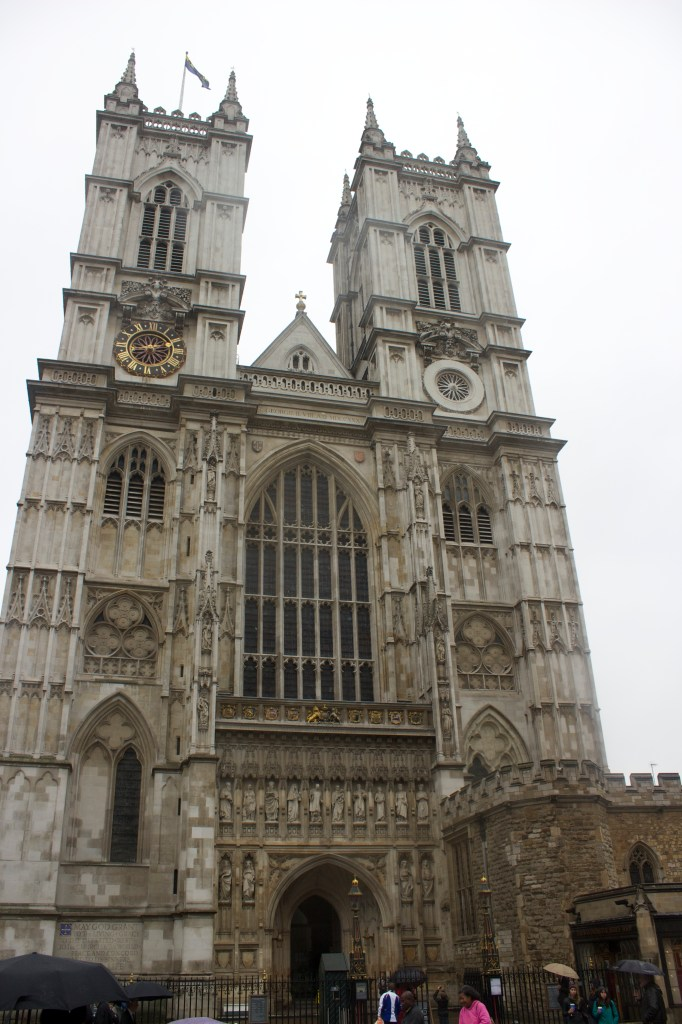 Westminster Abbey aka where my parents got married! We spent a lot of time here...it's absolutely beautiful and there's so much to see!