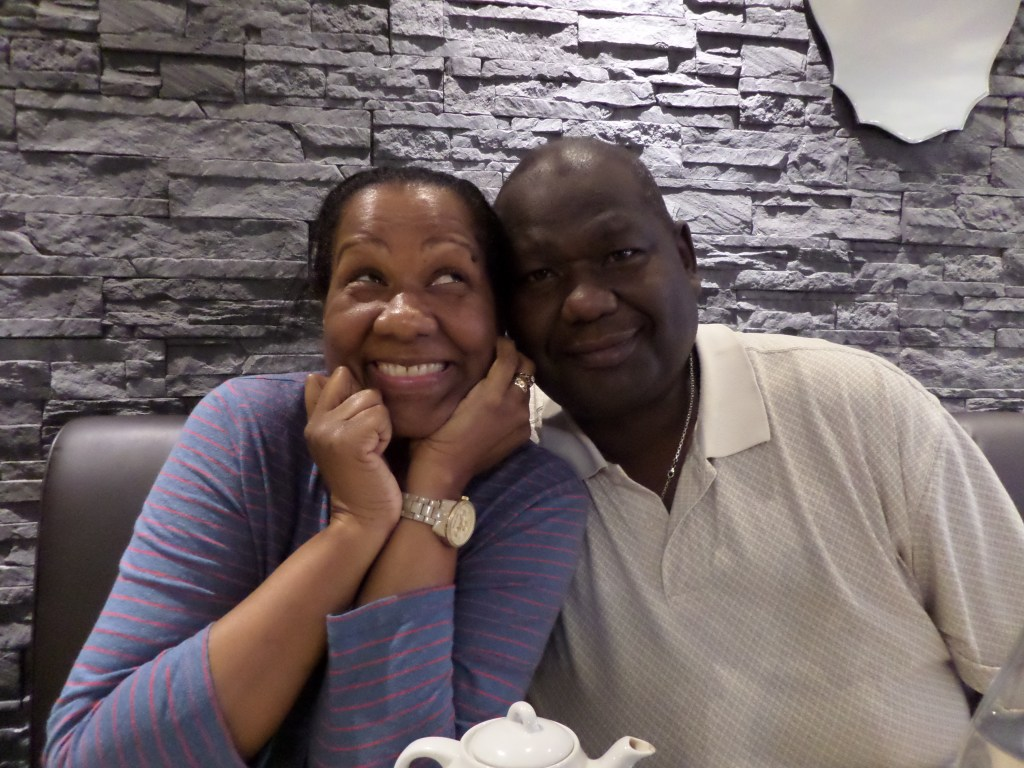 My parents trying to be super cute and in love over dinner in Paris. Oh wait, they succeeded!? Oh, okay. <33333 (ps - no, we didn't eat fish fillet in Paris, lol!)