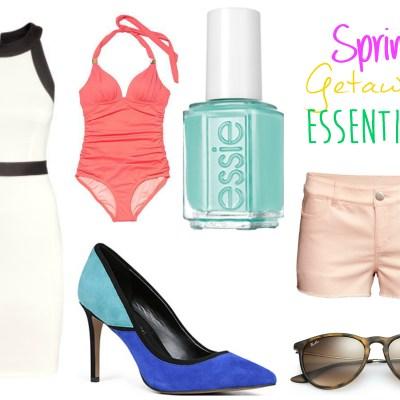Spring Getaway Essentials