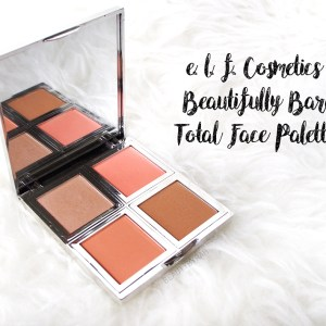 E.L.F Cosmetics Beautifully Bare Total Face Palette Review