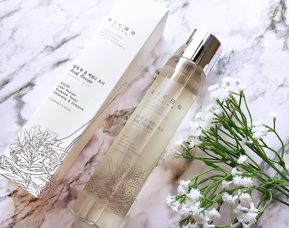 Kicho Cosmetics Leaf Recipe Essence Toner Review