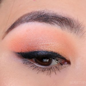 colourpop peachy keen quad eyeshadow tutorial