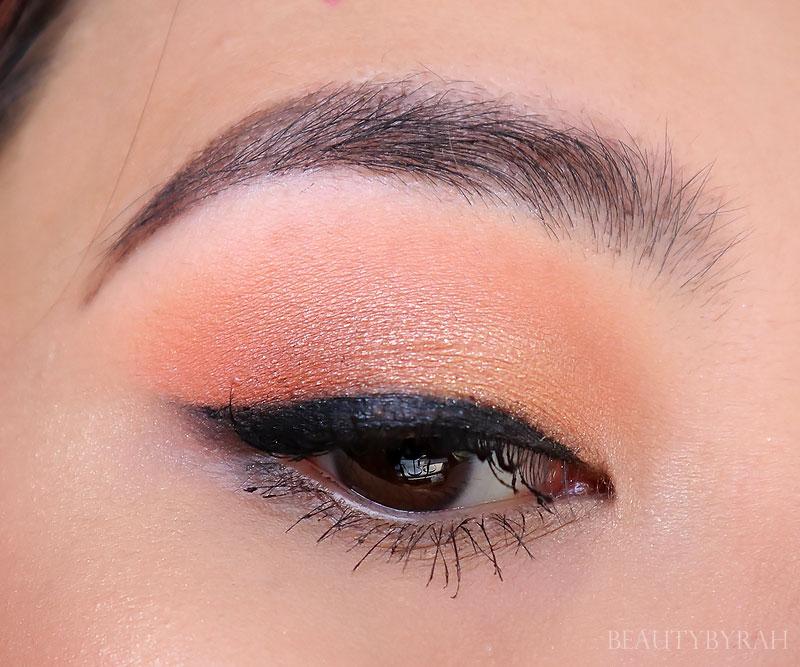 colourpop peachy keen quad eyeshadow tutorial