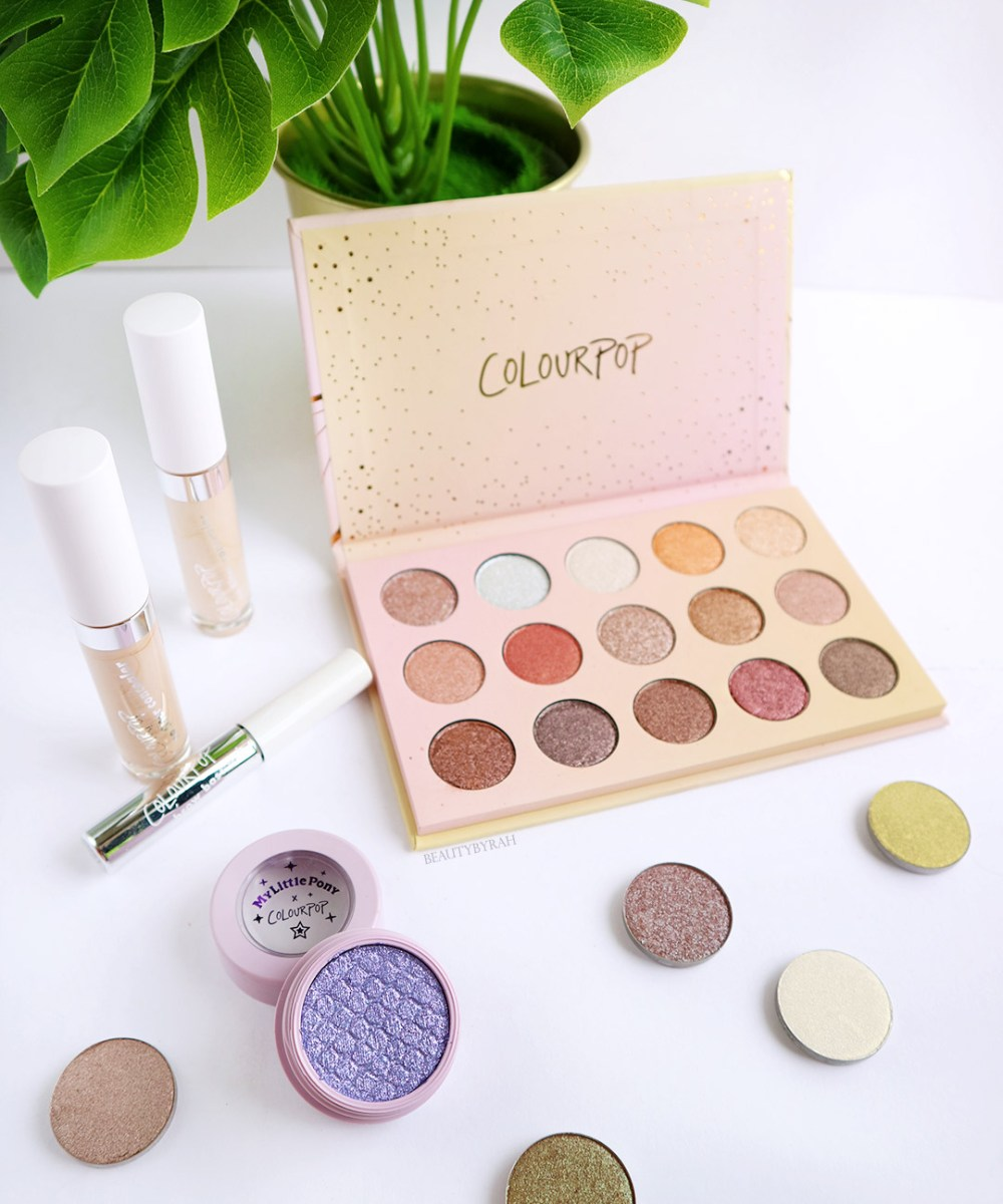 colourpop cosmetics golden state of mind palette review