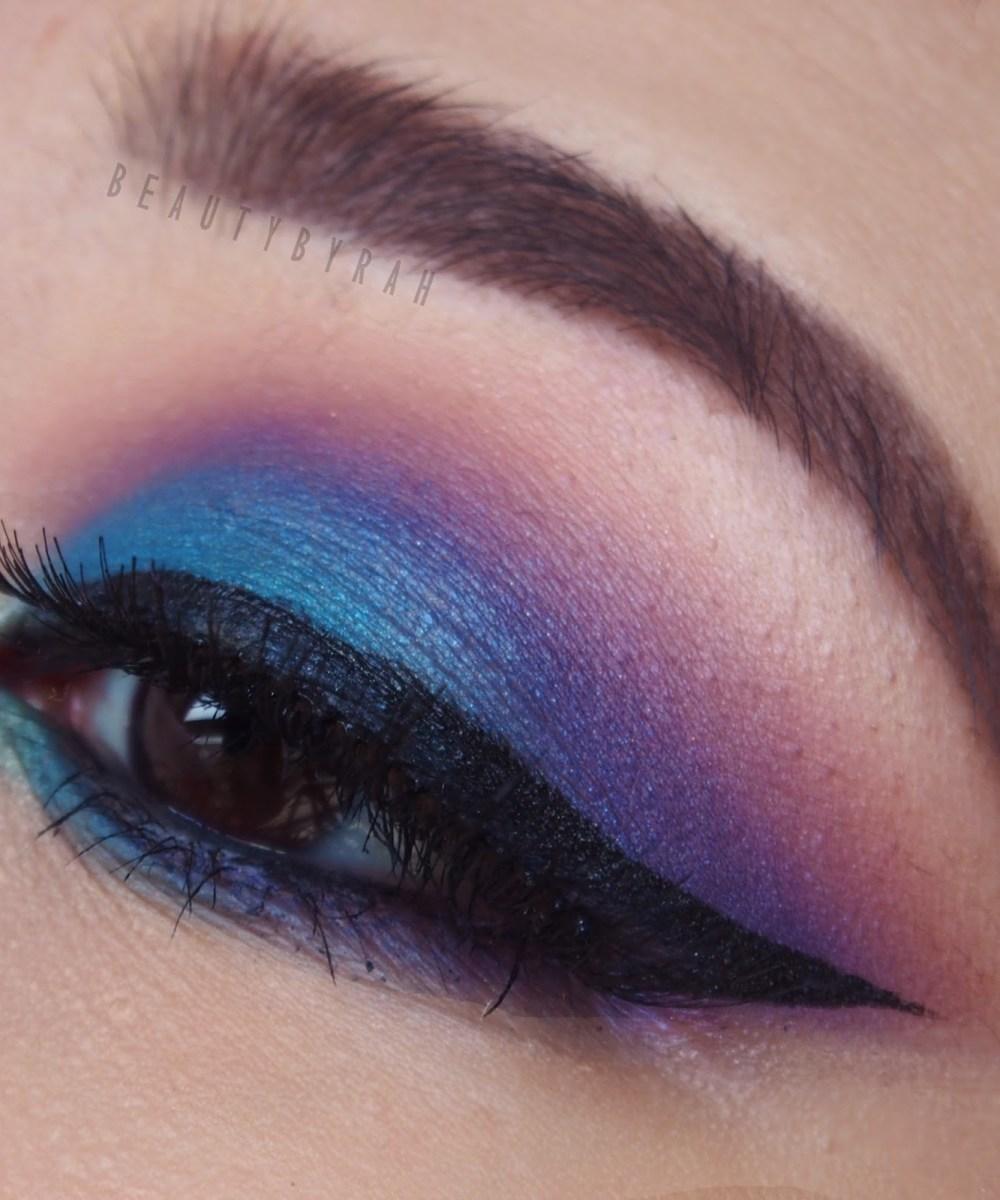 Morphe 35B Purple Blue Smokey Eye Tutorial