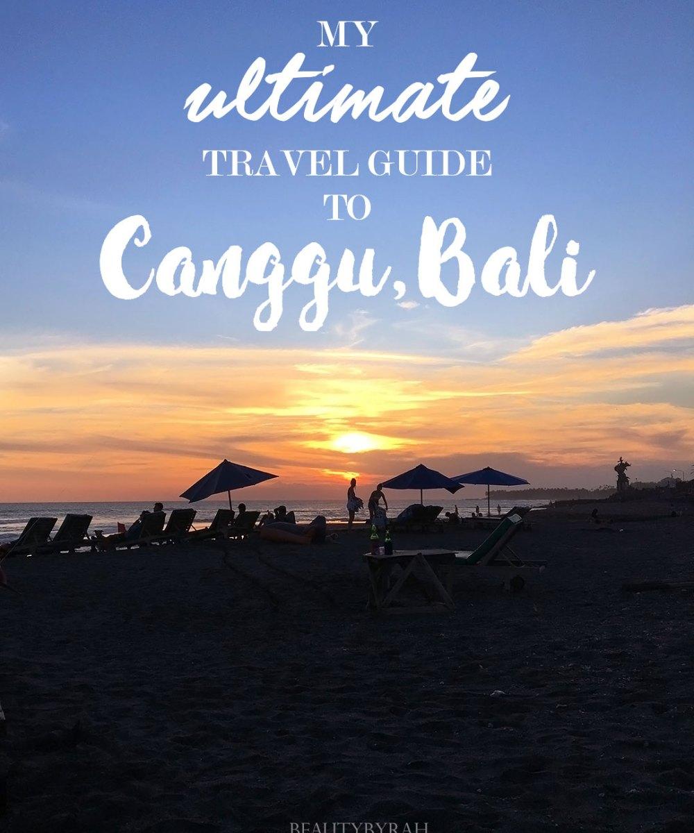 Canggu Bali Travel Guide