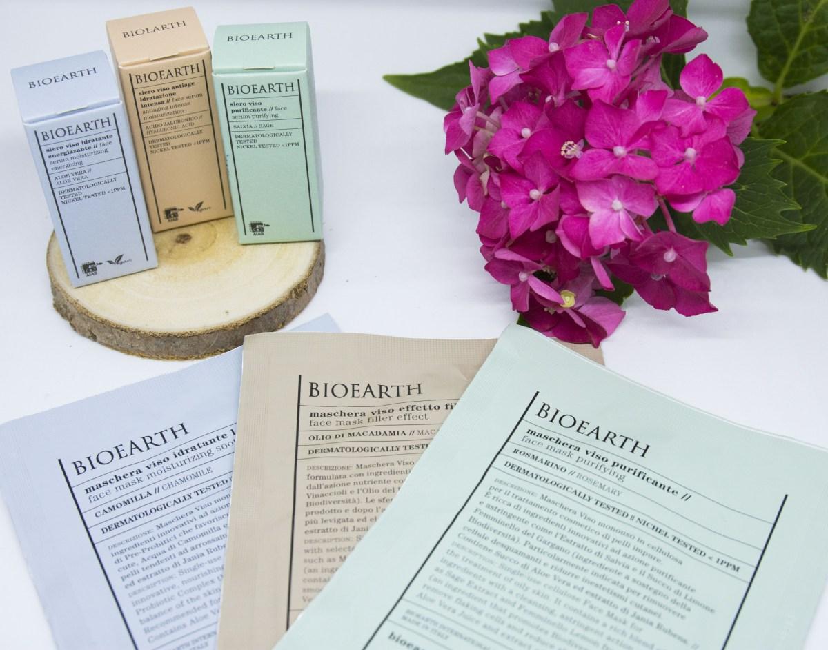 Bioearth: la nuova linea Maschere e Sieri