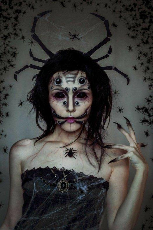 Top 10 Creepy Halloween makeup ideas – Beauty Care Me
