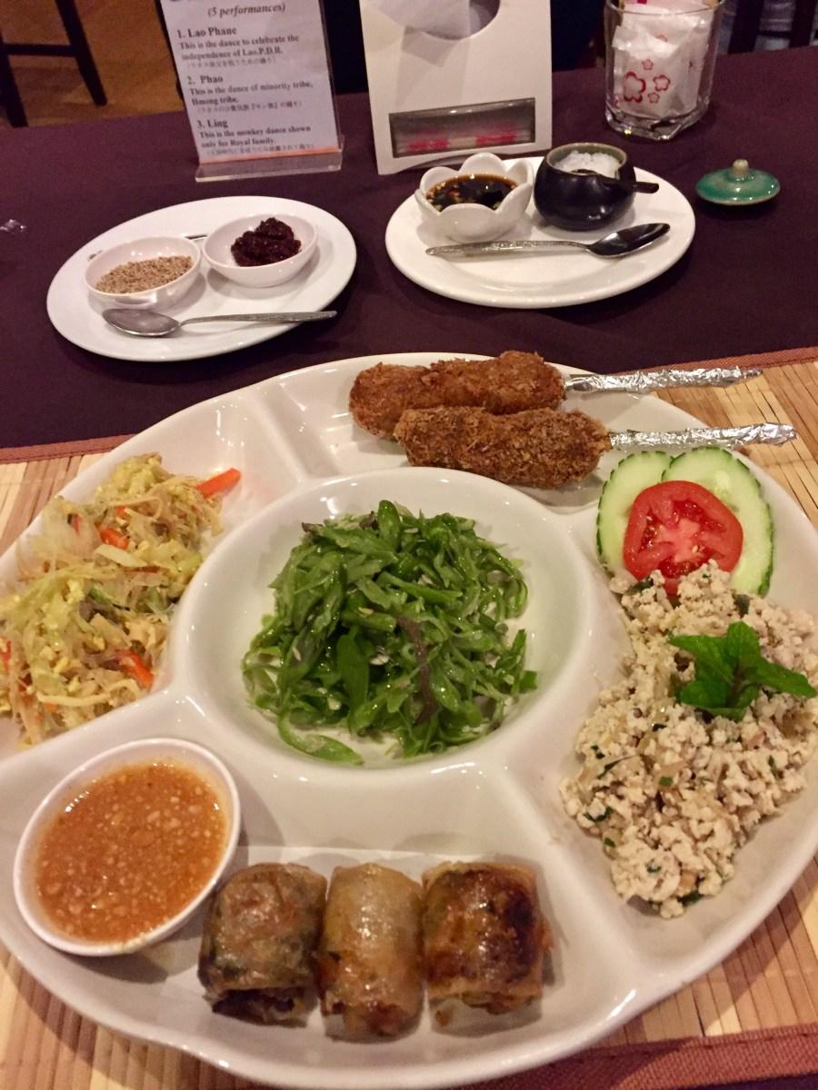 Adventurous eating in Laos…or not