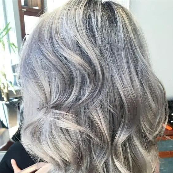 Gray Hair Styles And Haircuts Highlighting Lowlights