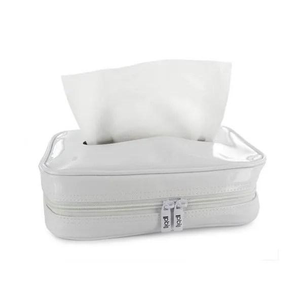 Habillage Boite Mouchoirs Pbi Vynil Blanc 24 13 5 5cm Pbi