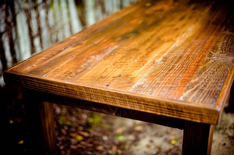 how to restore old wooden furniture table