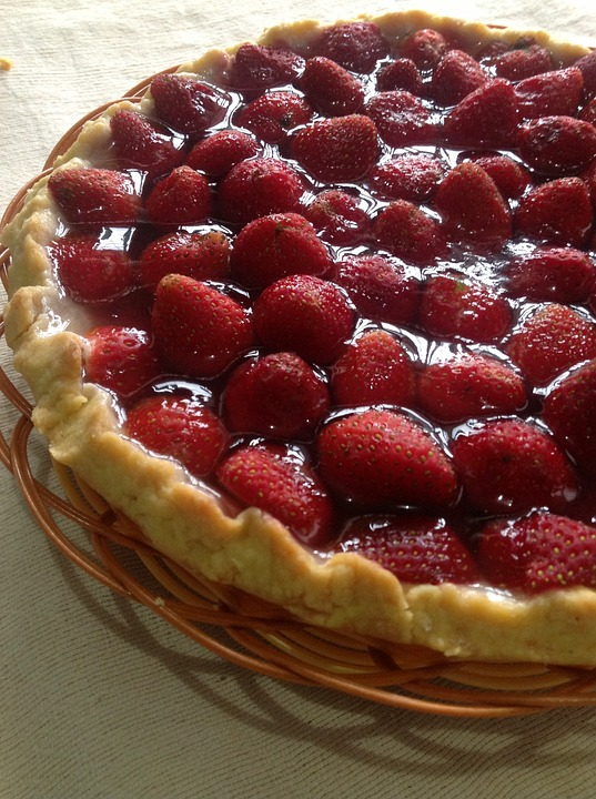 Strawberry Pie Pixibay Image