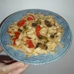 Summer Harvest Vegetarian Pasta