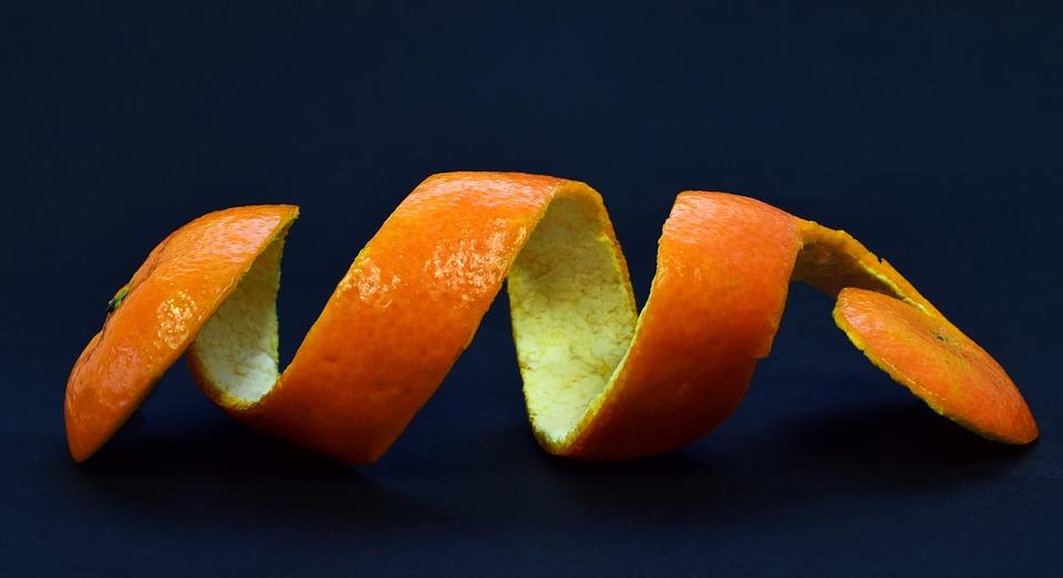 Orange Peel for DIY Holiday Air Freshener
