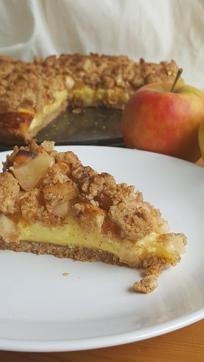 Apple Pie Pixibay Image Showing Apple Cream Pie